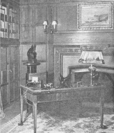 Рабочий кабинет Черчилля и Эттли во дворце Сесилиан-Хоф. Потсдам июль 1945