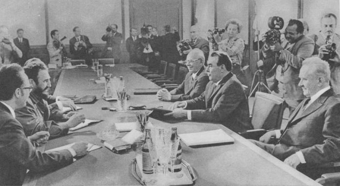 Во время советско-кубинских переговоров. 27 июня 1972