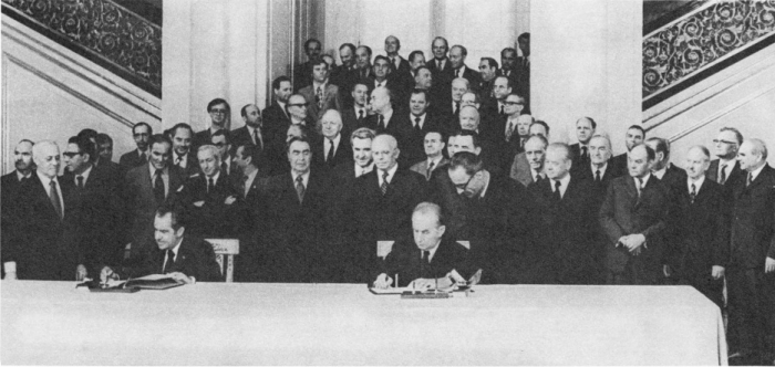 Визит в СССР президента США Р. Никсона. 1974