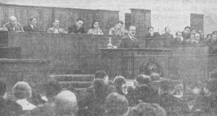 Доклад Народного Комиссара Иностранных Дел тов. В. М. МОЛОТОВА в Верховном Совете СССР 18 июня 1942 года