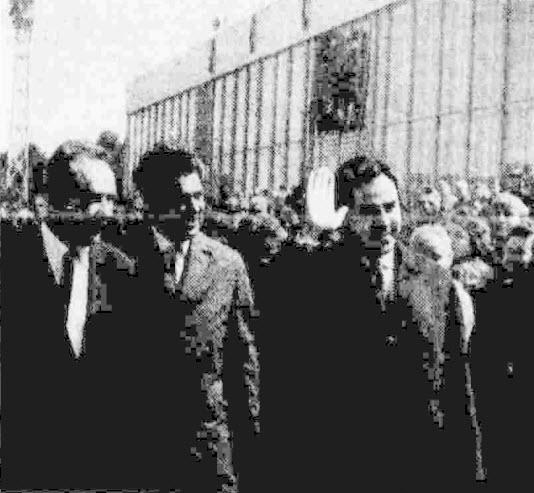 Встреча Нуреддина Атаси на Внуковском аэродроме. 29 мая 1967