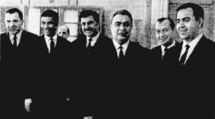 Прием Л. И. Брежневым Нуреддина Атаси 30 мая 1967
