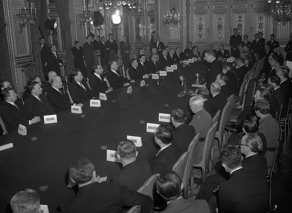 Подписание Парижских мирных договоров 10 февраля 1947