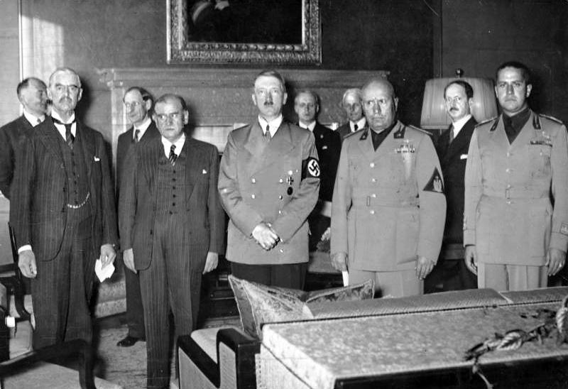 После подписания Мюнхенского соглашения