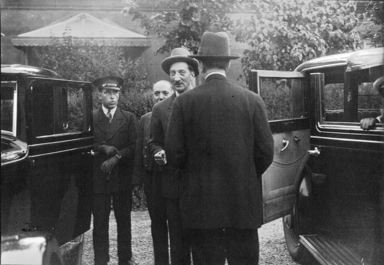 Председатель Стрезской конференции 1932 Жорж Бонне