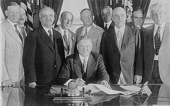 Подписание Закона о сельскохозяйственном рынке. 15 июня 1929