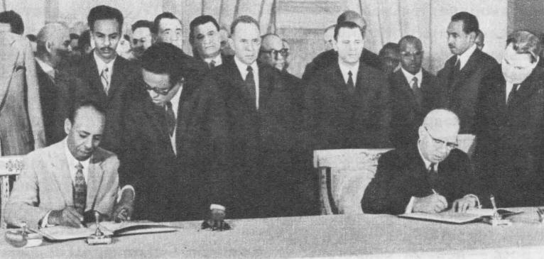 Подписание советско-сомалийских документов, 1971