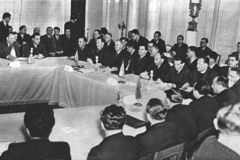 Московское совещание 29 ноября 1954