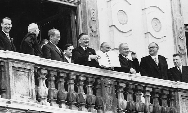 Государственный договор Австрии. 15 мая 1955