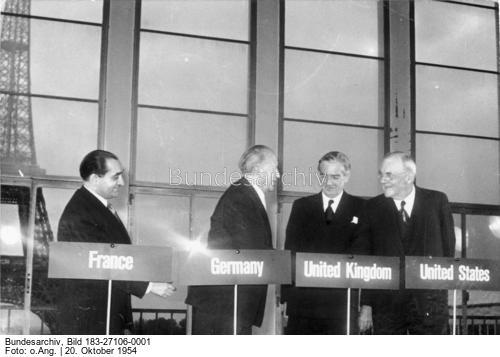 Парижские соглашения 23 октября 1954
