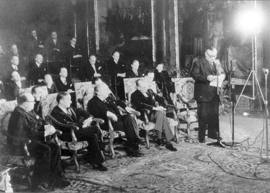 Подписание Брюссельского договора 17 марта 1948