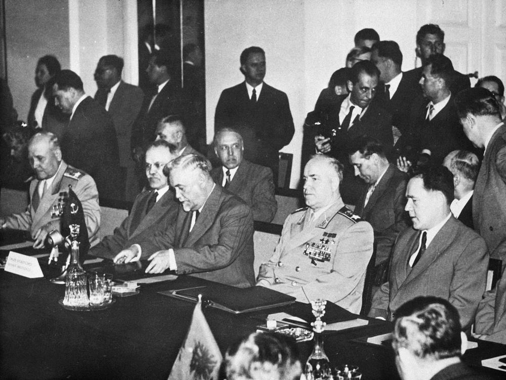 Варшавский договор 14 мая 1955
