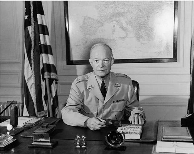 Президент США Д. Эйзенхауэр