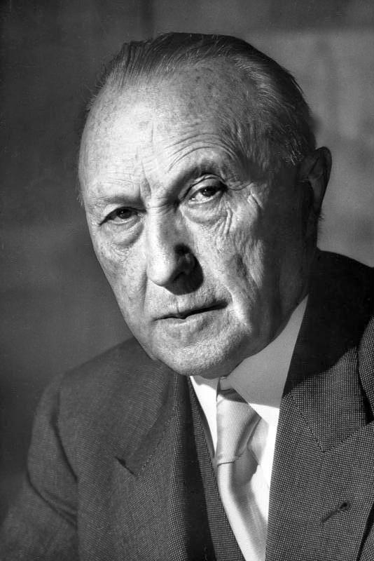 Конрад Аденауэр