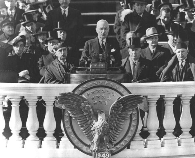 Инаугурационная речь президента Трумэна, 20 января 1949