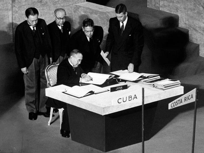 Сан-Францисский мирный договор 1951