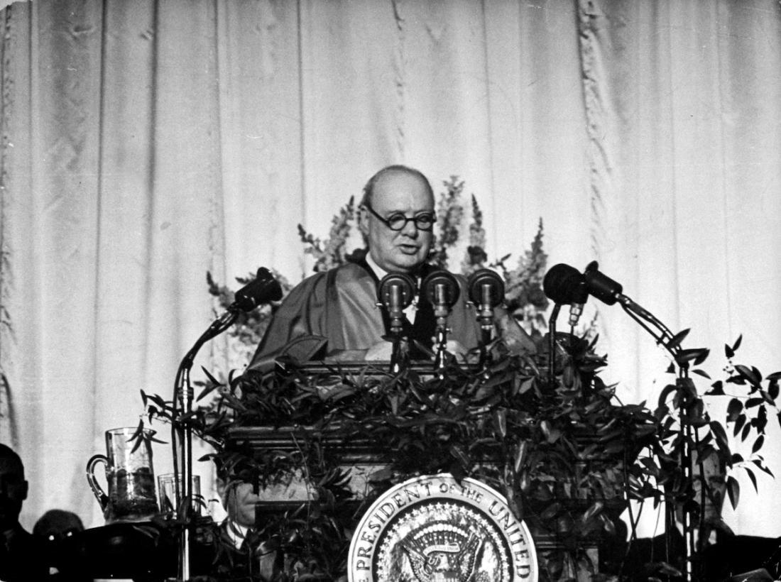 Речь У. Черчилля в Фултоне. 5 марта 1946