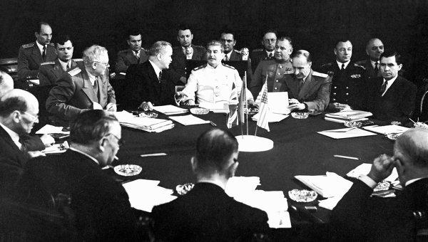 Потсдамская конференция. Июль 1945