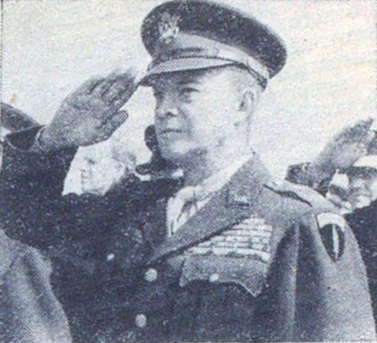 Генерал армии Д. Эйзенхауэр. 5 июня 1945