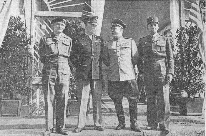 После подписания Декларации. 5 июня 1945
