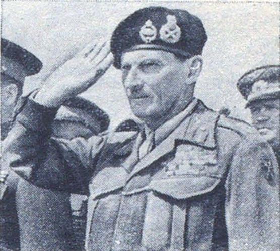 Фельдмаршал Б. Монтгомери. 5 июня 1945