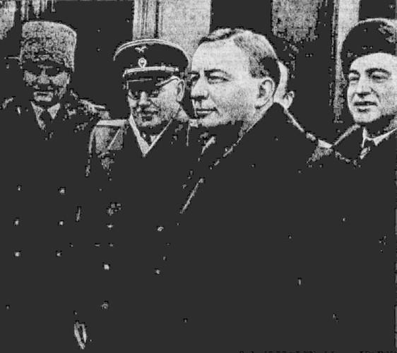 Прибытие в Москву г-на Ж. Бидо