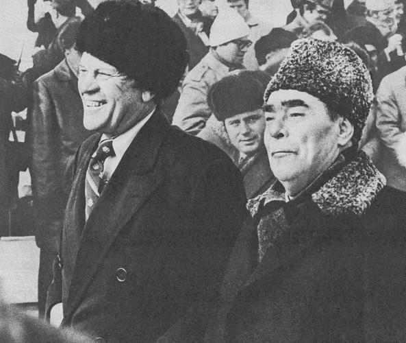 Встреча Л. И. Брежнева и Джеральда Р. Форда во Владивостокском аэропорту