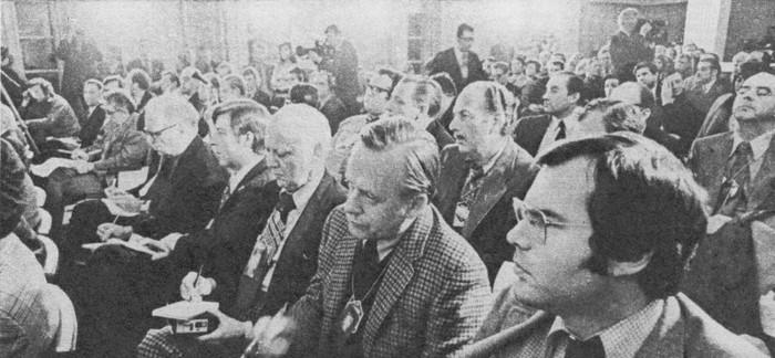 Пресс-конференция советских и американских журналистов