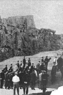 Шарль де Голль в Волгограде на Мамаевом кургане