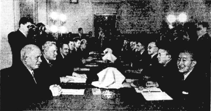 Советско-японские переговоры о нормализации отношении между СССР и Японией