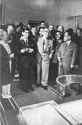 Ициро Хатояма в Ленинских Горках. 14 октября 1956