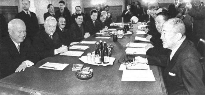 Советско-японские переговоры. 15 октября 1956