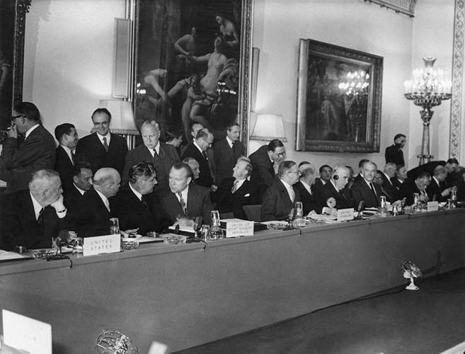Лондонская конференция по Суэцкому каналу. 1956