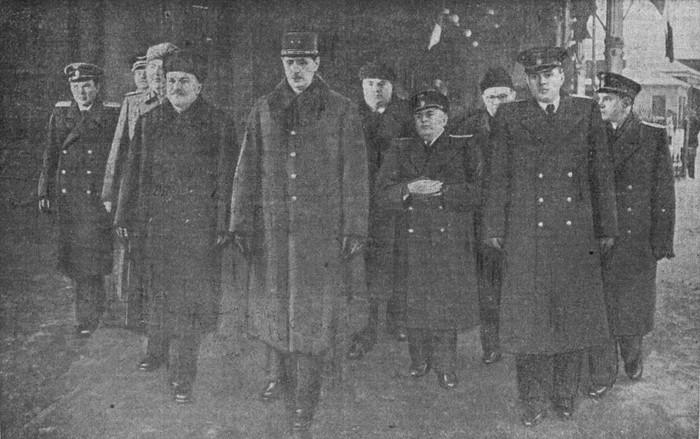 Отъезд из Москвы генерала де Голля. 10 декабря 1944